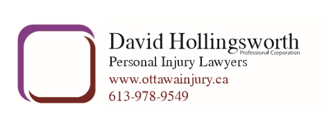 David Hollingsworth, Ottawa Personal Injury Lawyer Logo
