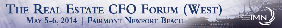 The Real Estate CFO Forum (West) held in Newport B