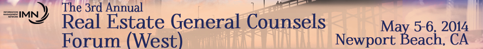 The 3rd Annual Real Estate Counsels forum (West) h